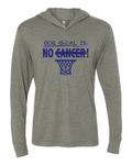 No Cancer Hooded T-Shirt