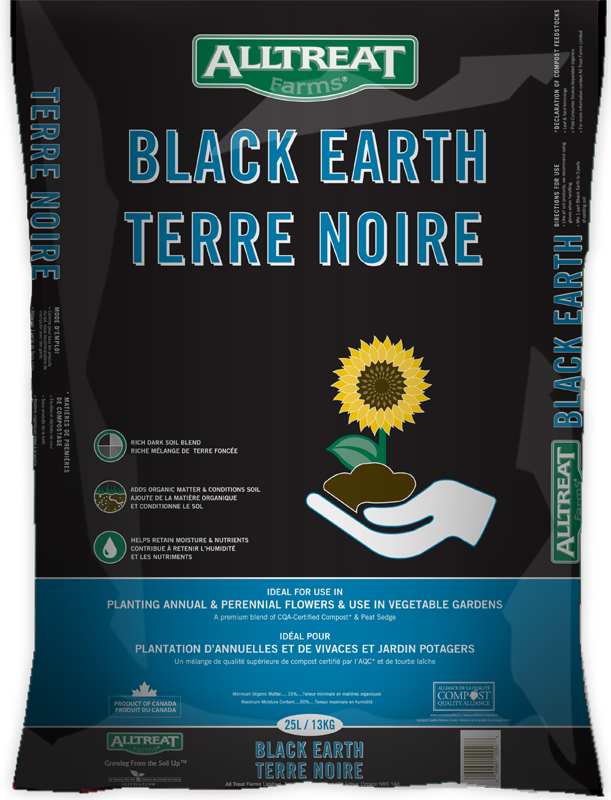 Black Earth Soil (25L) - Four Seasons Garden Centre
