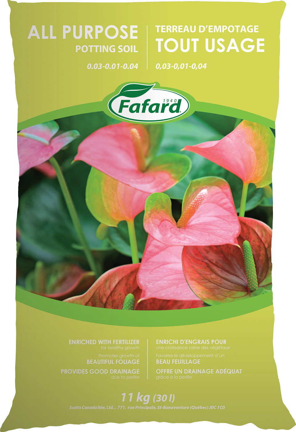 All Purpose Potting Soil 30 L - Four Seasons Garden Centre