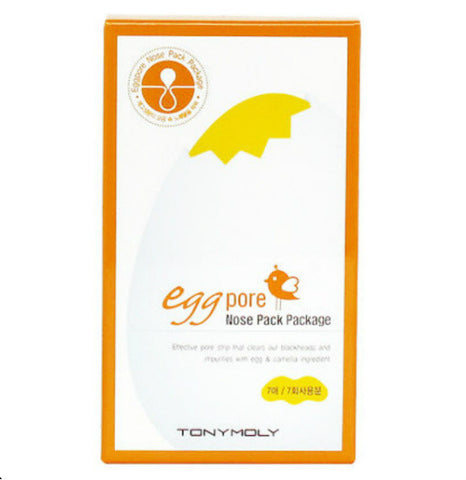 Eggpore Nose Pack Package (7 Strips)