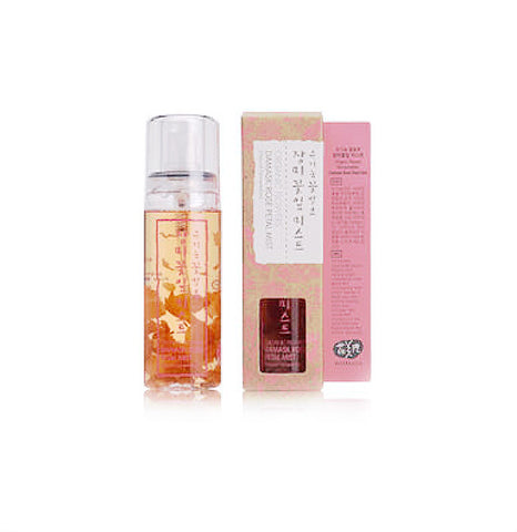 Whamisa Organic Flowers Damask Rose Petal Mist - 80 ml- (Special Price - Clearance Sale*)