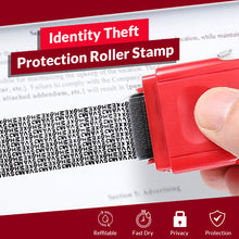 Load image into Gallery viewer, Identity Theft Protection Roller Stamp