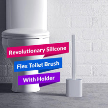 Load image into Gallery viewer, *Revolutionary Silicone Flex Toilet Brush With Holder
