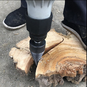 The Ultimate Wood Splitting Drill Bit - 50% OFF Pre-Christmas Sale!