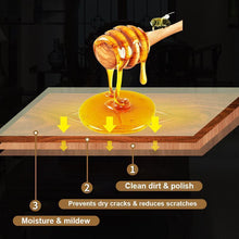 Load image into Gallery viewer, 100% All Natural Wood Restoration Beeswax