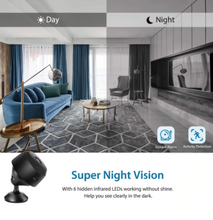 Load image into Gallery viewer, Wireless Night Vision Wifi Camera
