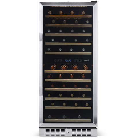 "NewAir 27"" Built-in 116 Bottle Dual Zone Compressor Wine Fridge (AWR-1160DB)"