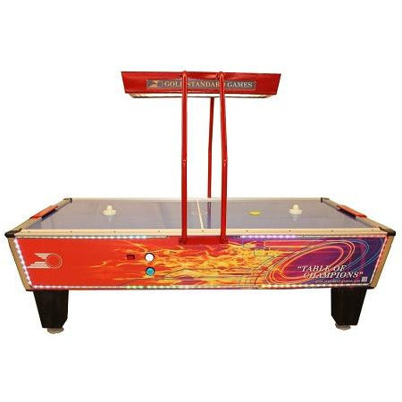 Gold Standard Game Flare Home Elite Air Hockey Table (8HGF-WO2-OHS-L)