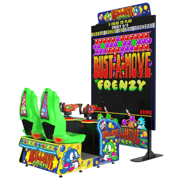 Raw Thrills Bust-A-Move Frenzy Arcade Game (BMFR-ARC)