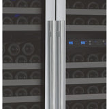 "Allavino 47"" Wide FlexCount II Tru-Vino 349 Bottle Three Zone Stainless Steel Side-by-Side Wine Refrigerator (3Z-VSWR7772-S20)"