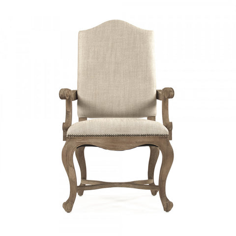 Zentique Grayson Pack of 4 Arm Chair (CFH422-F E272 C053-4)