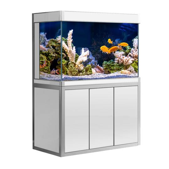 Aquadream Silver 145 Gallon Glass Fish Tank (JAL-1260-WTS)