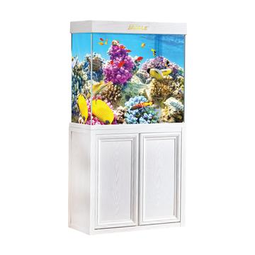 Aquadream White Oak 50 Gallon Fish Tank (JAL-860-WO)