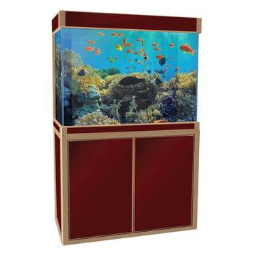 Aquadream Red 100 Gallon Fish Tank (JAL-1060-RD)