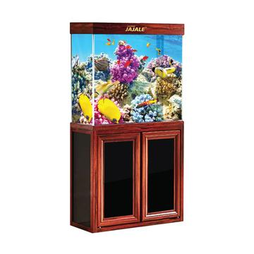 Aquadream Red Wood 50 Gallon Fish Tank (JAL-860-RW)