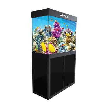 Aquadream Black 50 Gallon Fish Tank (JAL-860-ABK)