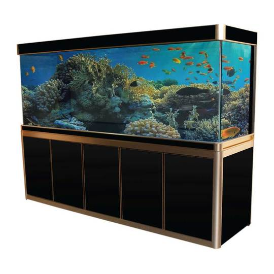 Aquadream Black 360 Gallon Glass Aquarium Fish Tank (JAX-2310-BK)