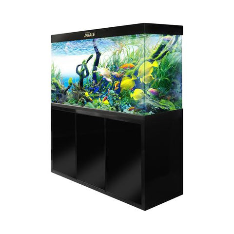 Aquadream Black 175 Gallon Aquarium Fish Tank (JAL-1560-ABK)