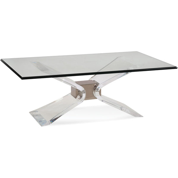 BMC Silven Rectangle Cocktail Table (2999-100B-T)
