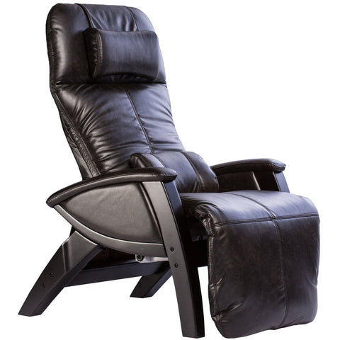Svago ZGR Plus Midnight/Black Wood Wood Zero Gravity Recliner (SV395-28-BL)