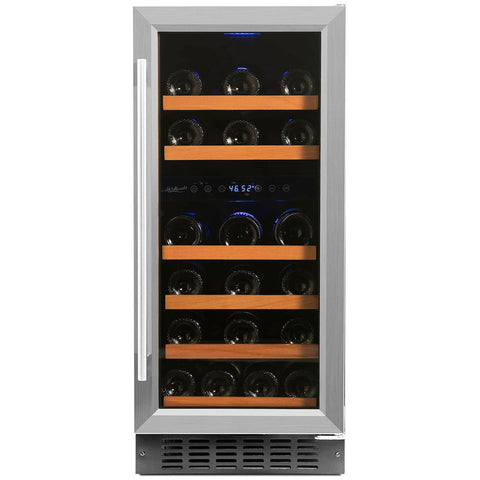 Smith & Hanks 32 Bottle Dual Zone Wine Cooler (RW88DR)
