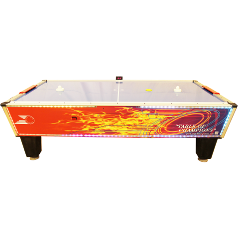Gold Standard Game Flare Home Air Hockey Table (8HGF-WO2-TRS-L)
