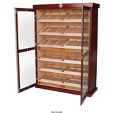 REAGAN 4000 Ct. Dual Zone Dark Cherry Electric Climate/Humidity Controlled Cabinet (REAGN)