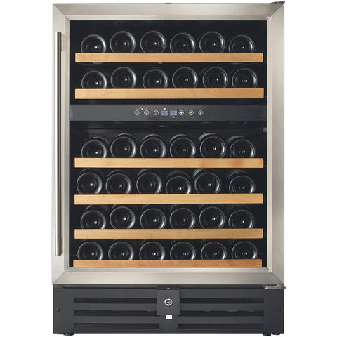 Smith & Hanks 46 Bottle Dual Zone Wine Cooler (RW145DR)