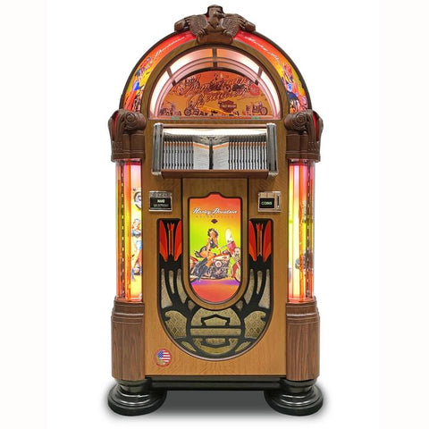 Rock-Ola American Beauties Bubbler CD Jukebox (J-70403-A)