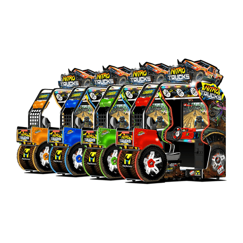 Raw Thrills Nitro Trucks Arcade Game (NITRO-ARC)