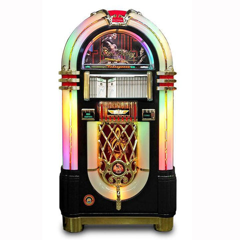 Rock-Ola Elvis Bubbler CD Jukebox in Black Finish (J-70421-A)