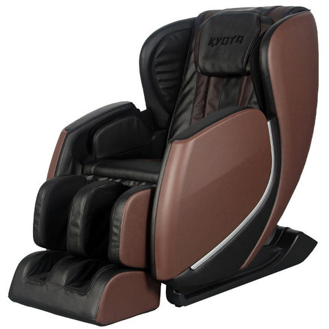 Kyota E330 Kofuko Brown/Black Zero Gravity Full Body Massage Chair (810024205370)