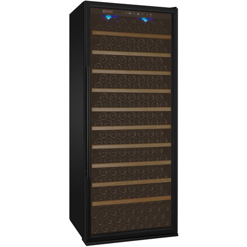"Allavino 32"" Wide Vite II Tru-Vino 277 Bottle Single Zone Black Right Hinge Wine Refrigerator (YHWR305-1BR20)"