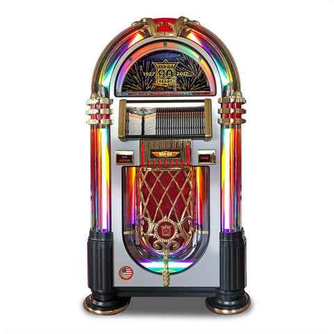 Rock-Ola 90th Anniversary Limited Edition Bubbler CD Jukebox (J-70444-A)