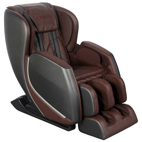 Kyota E330 Kofuko Black/Brown Zero Gravity Full Body Massage Chair (810024205363)