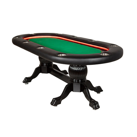 "BBO Elite Alpha 94""  LED Sunken Playing Surface Poker Table (2BBO-ELTA)"
