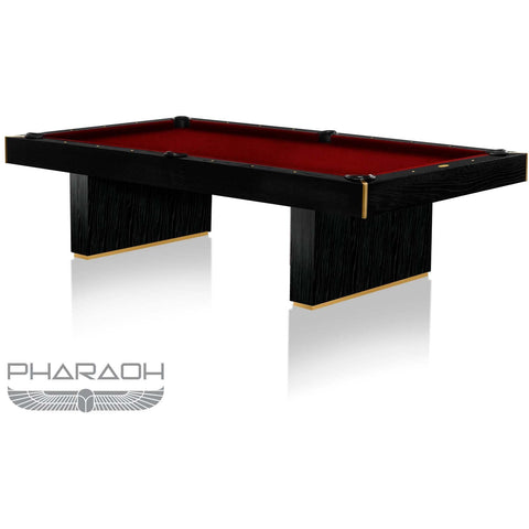 Pharaoh USA Huntsman Billiards Table - Piano Black & Red (HUNBI-D-BR)