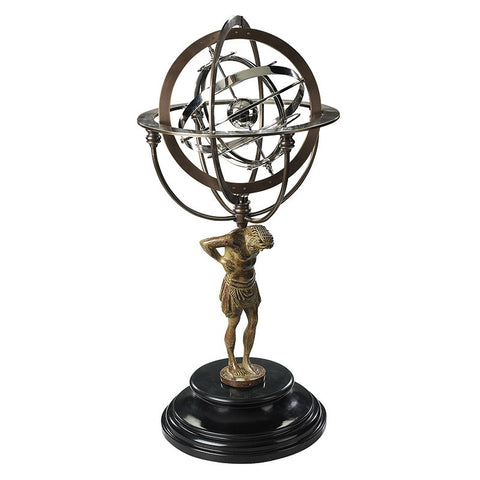 Authentic Models 18th Century Atlas Armillary (GL051)