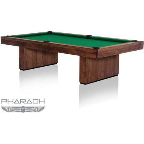 Pharaoh USA Huntsman Billiards Table - American Walnut & Tournament Green (HUNBI-D-AWG)