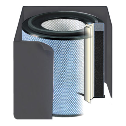 Austin Air Black Bedroom Air Purifier Filter (FR402A)