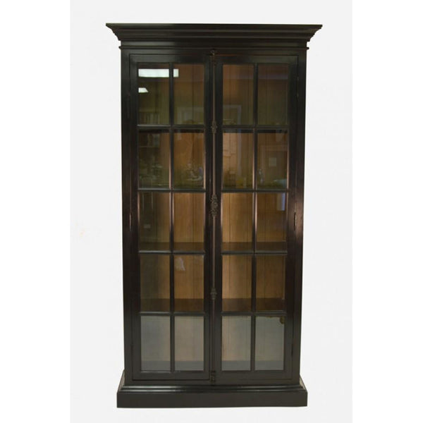 Zentique Victoria Dark Oak China Cabinet (HS007 E166)