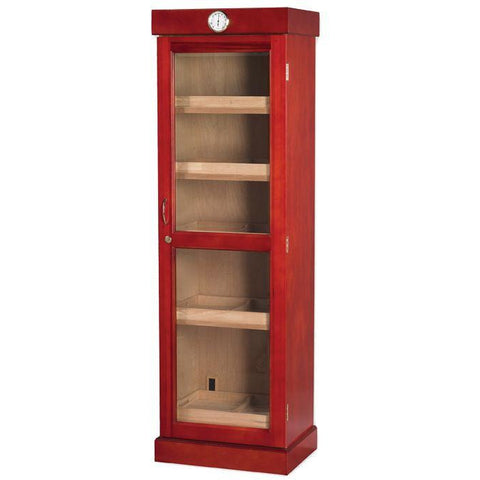 Quality Importers 3000 Ct. Cherry Humidor Cigar Tower Shelf Unit (HUM-2000C-SHELF)