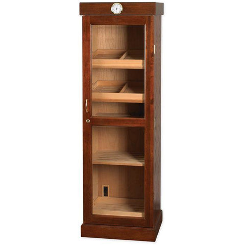 Quality Importers 3000 Ct. Mahogany Humidor Cigar Tower Shelf Unit (HUM-2000M-SHELF)
