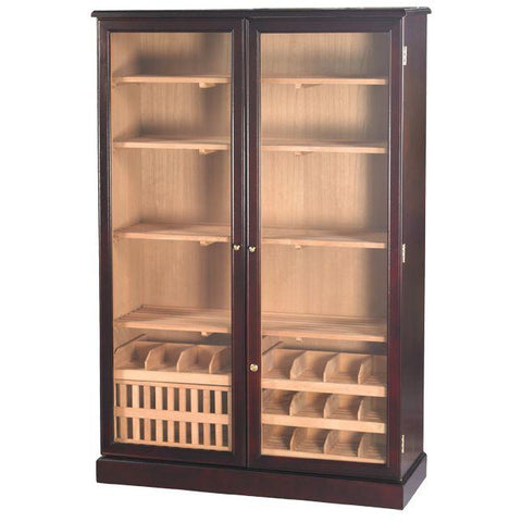 Quality Importers 4000 Ct. Dark Mahogany Commercial Humidor Cigar Cabinet (HUM-4000)
