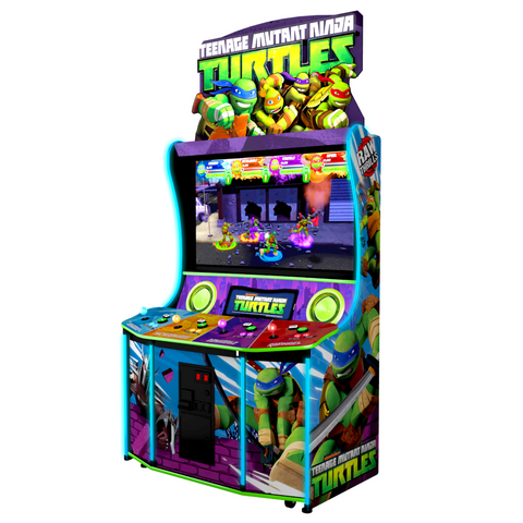 Raw Thrills Teenage Mutant Ninja Turtles Arcade Game (TMNT-ARC)