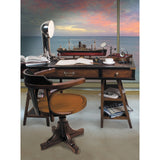 Authentic Models Black Navigator's Desk (MF022)