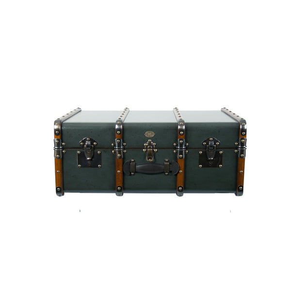 Authentic Models Petrol Stateroom Trunk Table (MF040P)