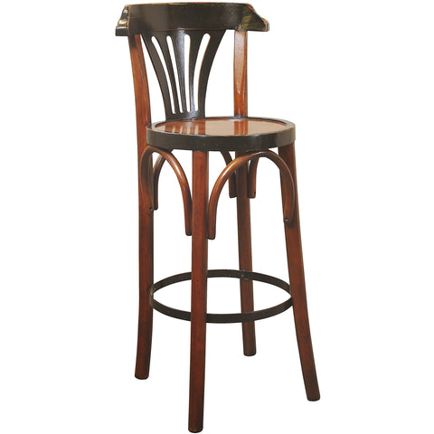 Authentic Models Pack of 4 Honey Barstool De Luxe (MF044A)
