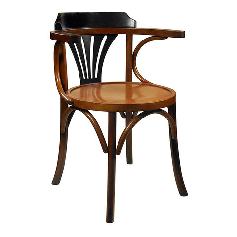 Authentic Models Black/Honey Navy Chair (MF046Z)
