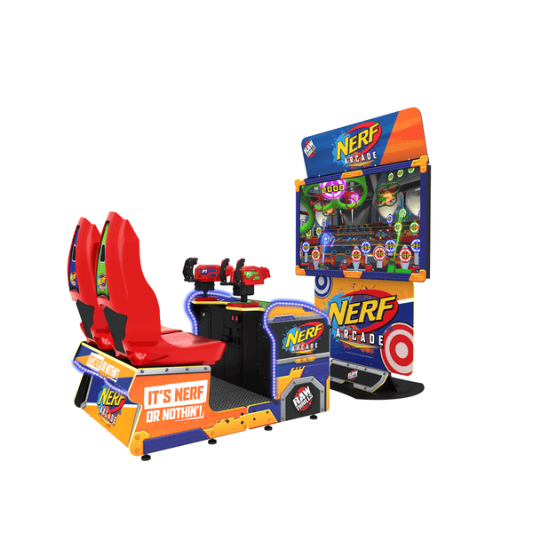 Raw Thrills Nerf Attack Arcade Game (NERF-ARC)